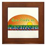 Lindo Zacatecas Framed Tile
