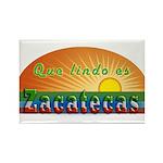 Lindo Zacatecas Rectangle Magnet
