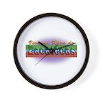 Mi Raza de Zacatecas Wall Clock