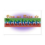 Mi Raza de Zacatecas Mini Poster Print