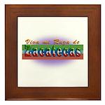 Mi Raza de Zacatecas Framed Tile