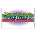 Mi Raza de Zacatecas Sticker (Rectangle)