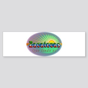 Zacatecas Que Lindo Sticker (Bumper)