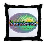 Zacatecas Que Lindo Throw Pillow