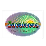 Zacatecas Que Lindo Postcards (Package of 8)