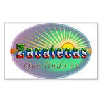 Zacatecas Que Lindo Sticker (Rectangle)