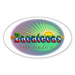 Zacatecas Que Lindo Sticker (Oval 10 pk)