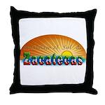 Naci en Zacatecas Throw Pillow