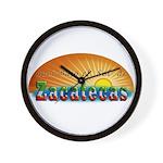 Naci en Zacatecas Wall Clock