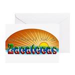 Naci en Zacatecas Greeting Cards (Pk of 10)