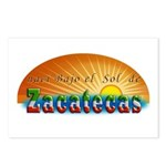 Naci en Zacatecas Postcards (Package of 8)