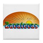 Naci en Zacatecas Tile Coaster