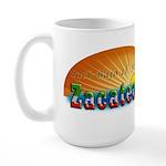 Naci en Zacatecas Large Mug