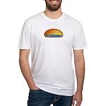 Naci en Zacatecas Fitted T-Shirt