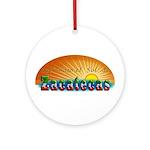 Naci en Zacatecas Ornament (Round)