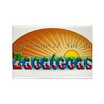 Naci en Zacatecas Rectangle Magnet