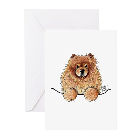 Red Pocket Chow Greeting Cards (Pk of 20)