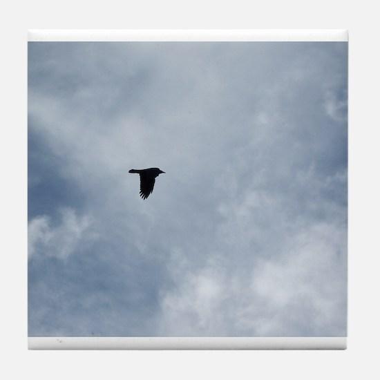 Crow Flight Tile Coaster