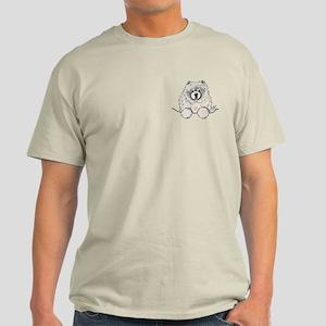 Cream Pocket Chow Chow Light T-Shirt