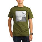 Mitzy (No Text) Organic Men's T-Shirt (dark)