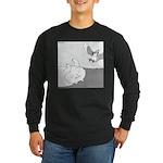 Mitzy (No Text) Long Sleeve Dark T-Shirt