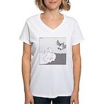 Mitzy (No Text) Women's V-Neck T-Shirt