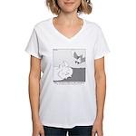 Mitzy Women's V-Neck T-Shirt