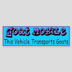 GOATS-Goat Mobile Bumper Sticker
