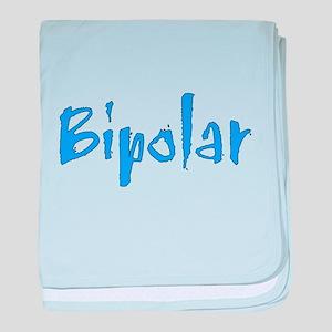 Blue Bipolar baby blanket