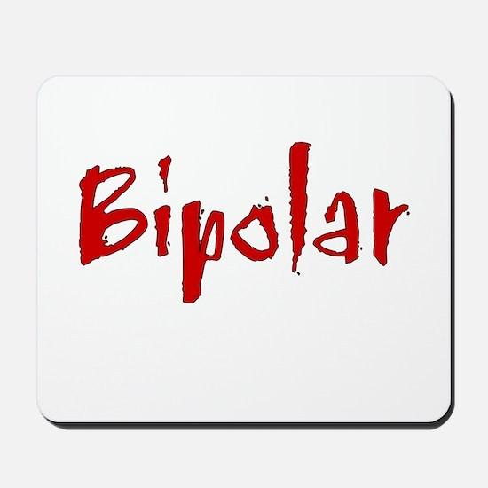 Red Bipolar Mousepad