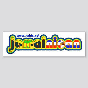 JamaiNican 2 Sticker (Bumper 10 pk)