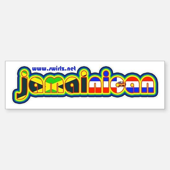 JamaiNican 2 Sticker (Bumper 10 pk)