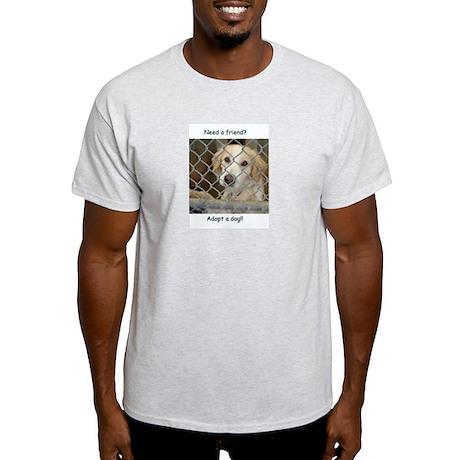Love a dog Ash Grey T-Shirt