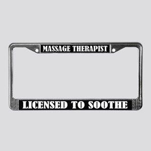 Massage Therapist License Frame