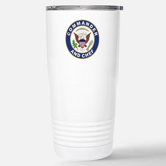 Unique Commander Travel Mug