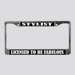 Stylist License Frame