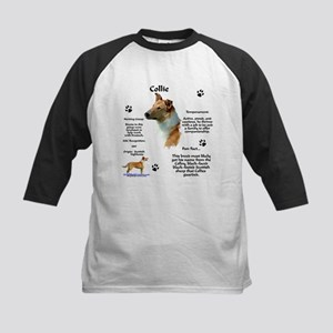 Collie 2 Kids Baseball Jersey