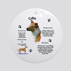 Collie 2 Ornament (Round)