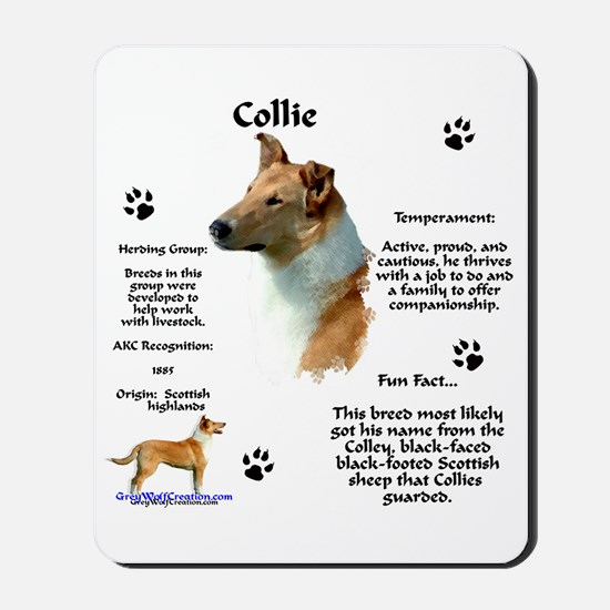 Collie 2 Mousepad