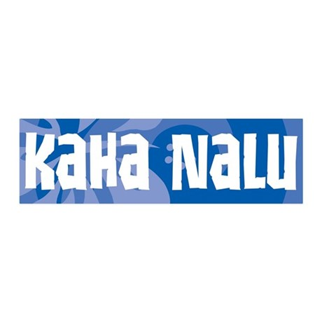 Kaha Nalu 36x11 Wall Decal