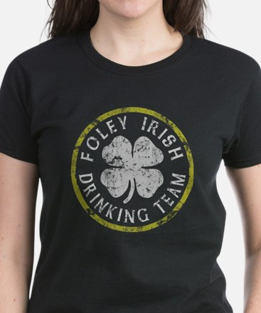 Foley Irish Drinking Team Women's Dark T-Shirt