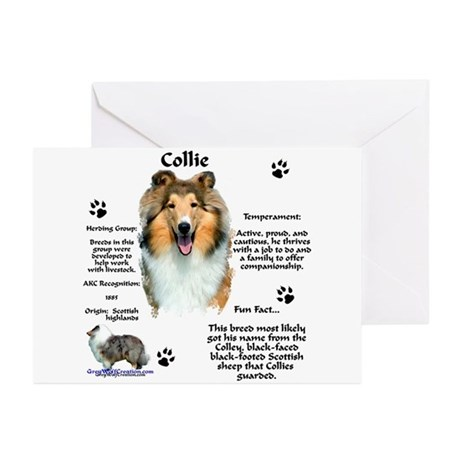 Collie 1 Greeting Cards (Pk of 10)