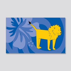 Lion 20x12 Wall Decal
