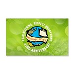Earth Day 20x12 Wall Decal