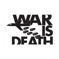 War is Death 38.5 x 24.5 Wall Peel