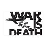War is Death 38.5 x 24.5 Wall Peel