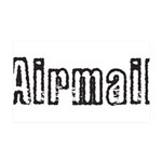 Airmail 35x21 Wall Decal