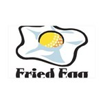 Fried Egg 35x21 Wall Decal