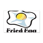 Fried Egg 20x12 Wall Decal