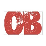 OB 20x12 Wall Decal